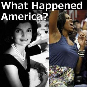 Michelle Obama and Jackie Kennedy