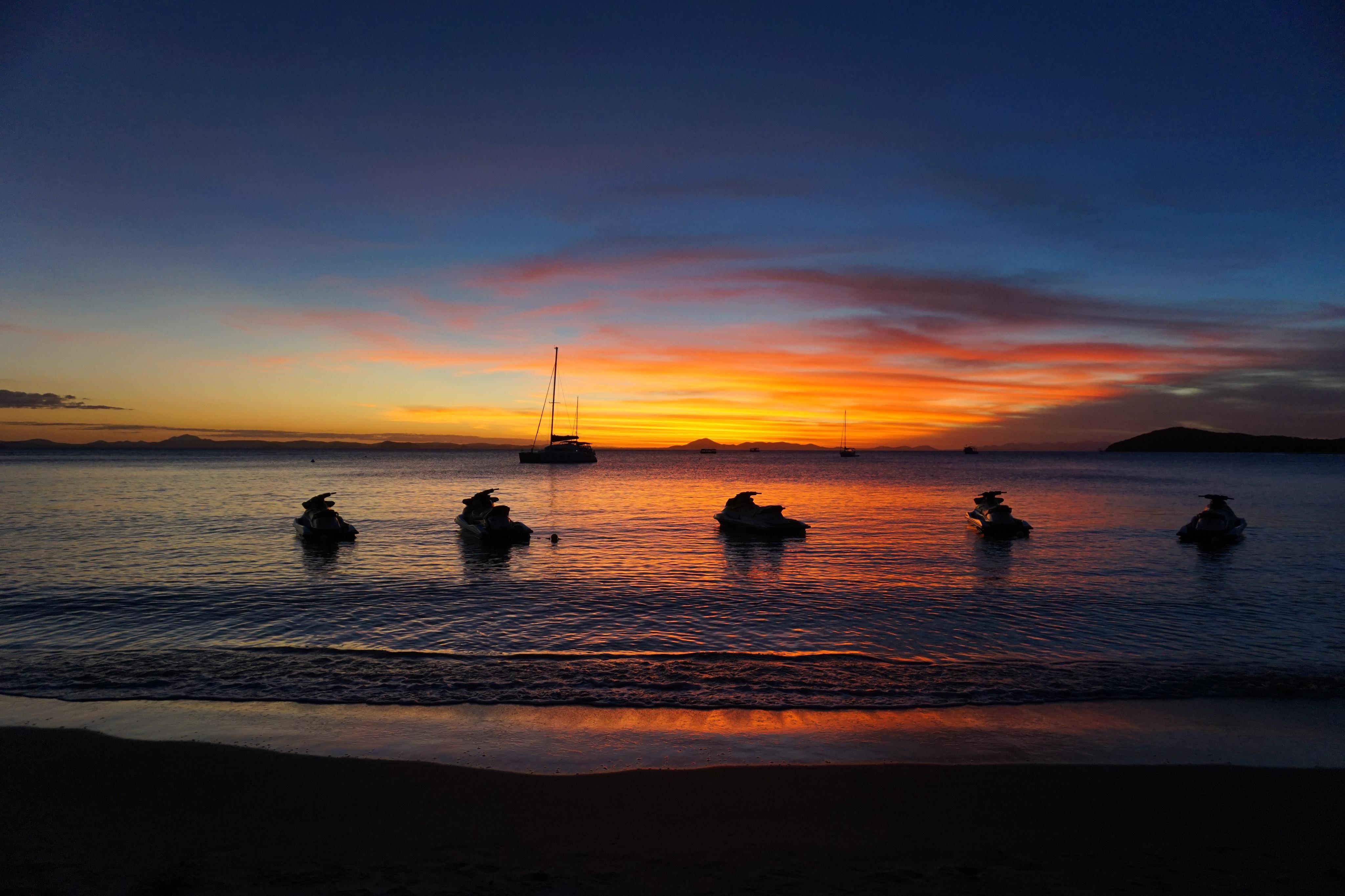 Keppel Island Sunset